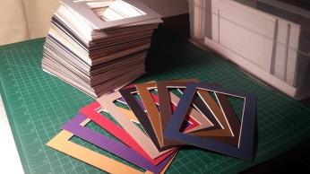 Tanya Mikulas handcut mat frames 20160406_200107
