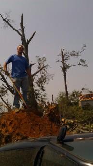 IMAG2804 jon april 30 Tanya Mikulas Tuscaloosa tornado 2011