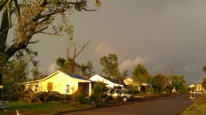 IMAG2962 rainbow over my house may 3 Tanya Mikulas Tuscaloosa tornado 2011