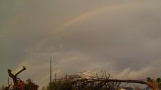 IMAG2970 rainbow may 3 Tanya Mikulas Tuscaloosa tornado 2011