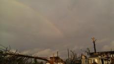 IMAG2974 rainbow may 3 Tanya Mikulas Tuscaloosa tornado 2011