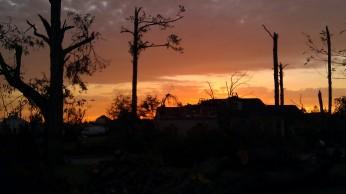 IMAG3007 sunset may 3 Tanya Mikulas Tuscaloosa tornado 2011