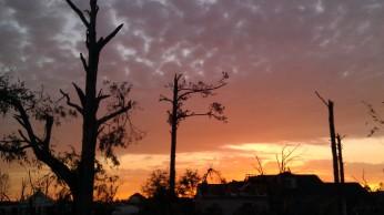 IMAG3008 sunset may 3 Tanya Mikulas Tuscaloosa tornado 2011