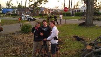 IMAG3162 film dudes may 7 Tanya Mikulas Tuscaloosa tornado 2011