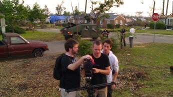 IMAG3163 film dudes may 7 Tanya Mikulas Tuscaloosa tornado 2011