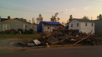 IMAG3285 roof may 11 Tanya Mikulas Tuscaloosa tornado 2011