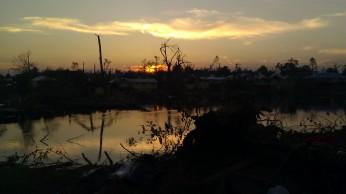 IMAG3291 sunset may 11 Tanya Mikulas Tuscaloosa tornado 2011