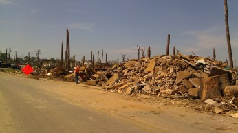 IMAG3629 debris may 18 Tanya Mikulas Tuscaloosa tornado 2011