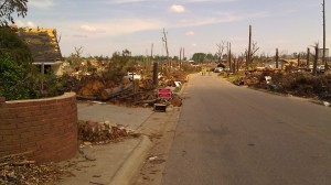 Tanya Mikulas, Forest Lake Drive, Tuscaloosa Alabama, 5/15/2011 after #2 IMAG3632
