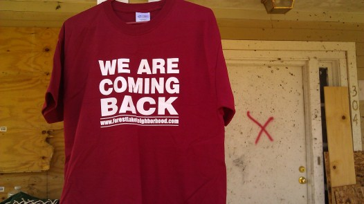 IMAG3639 we are coming back shirt may 18 Tanya Mikulas Tuscaloosa tornado 2011