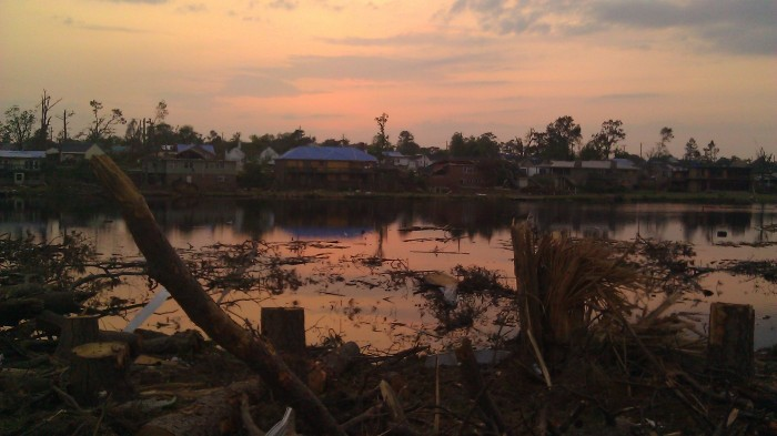 IMAG3820 sunset may 23 Tanya Mikulas Tuscaloosa tornado 2011