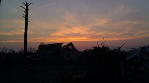 pretty nice sunset.