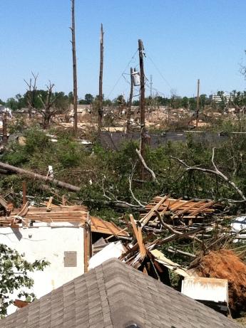IMG_0471 roof april 29 Mandie Offerman Tuscaloosa tornado 2011